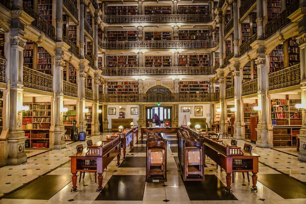 George Peabody Library (Baltimore, USA)