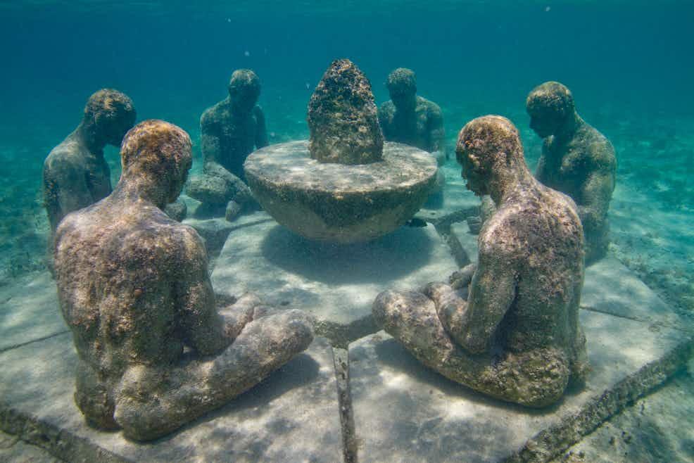 Museo Subacuático de Arte – MUSA (Cancun, Mexico)