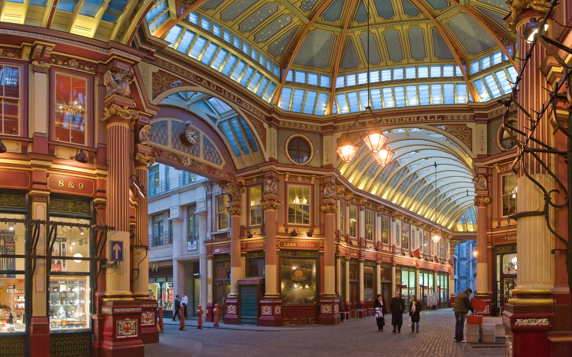 Leadenhall Market (London England)