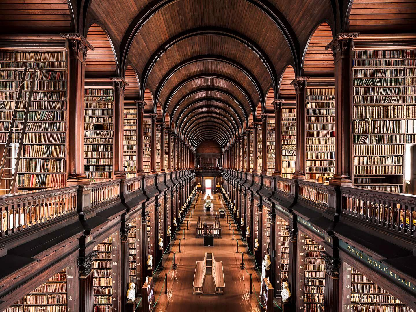 Trinity College Old Library (Dublin, Ireland)