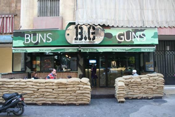 Buns and Guns (Beirut, Lebanon)