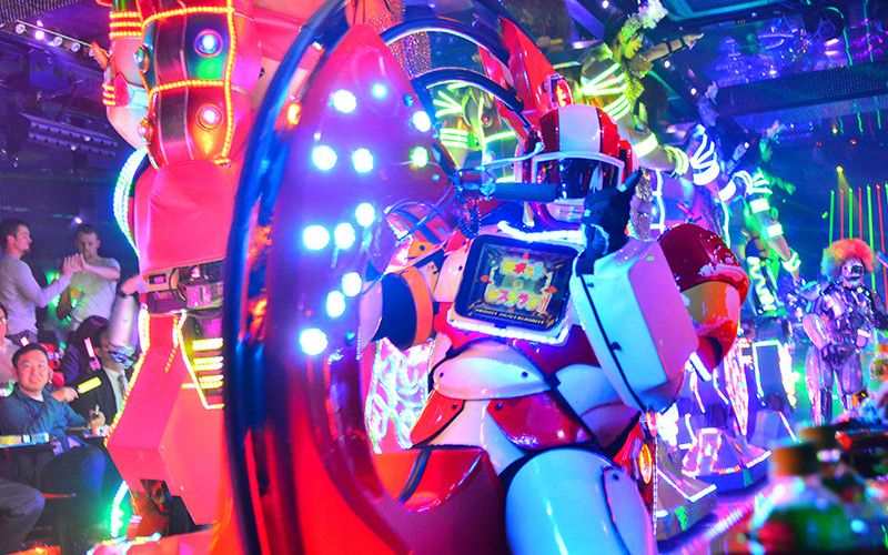 Robot Restaurant (Tokyo, Japan)
