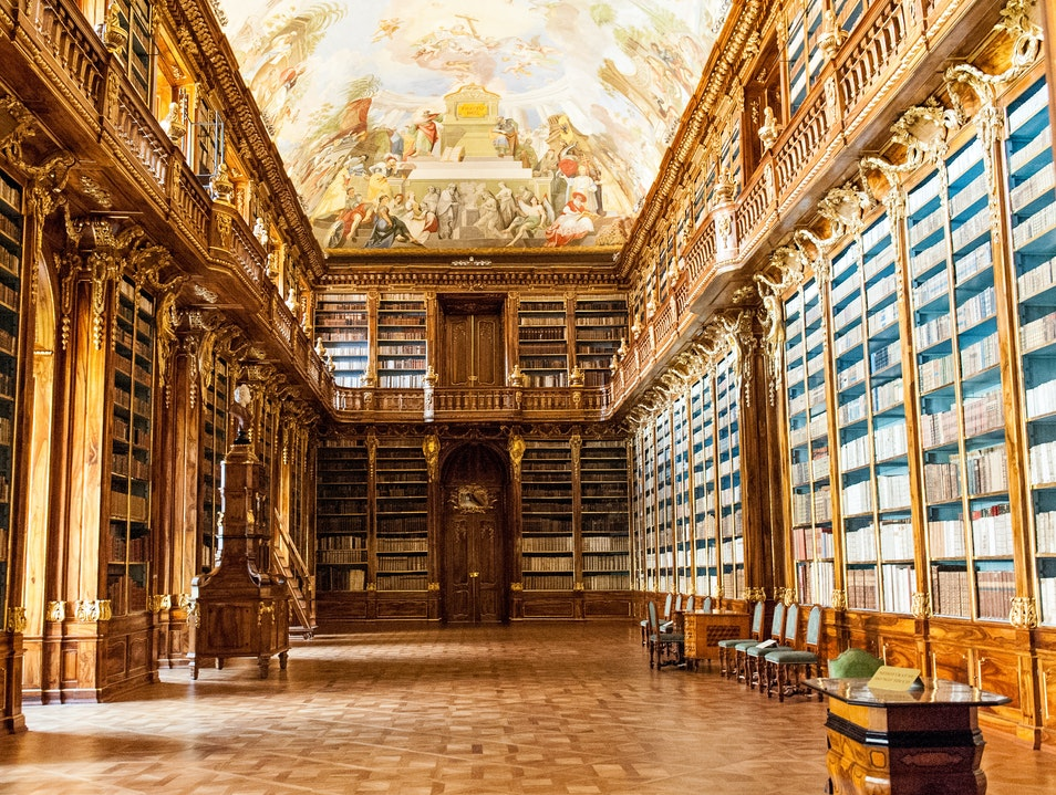 Strahov Library (Prague, Chez Republic)
