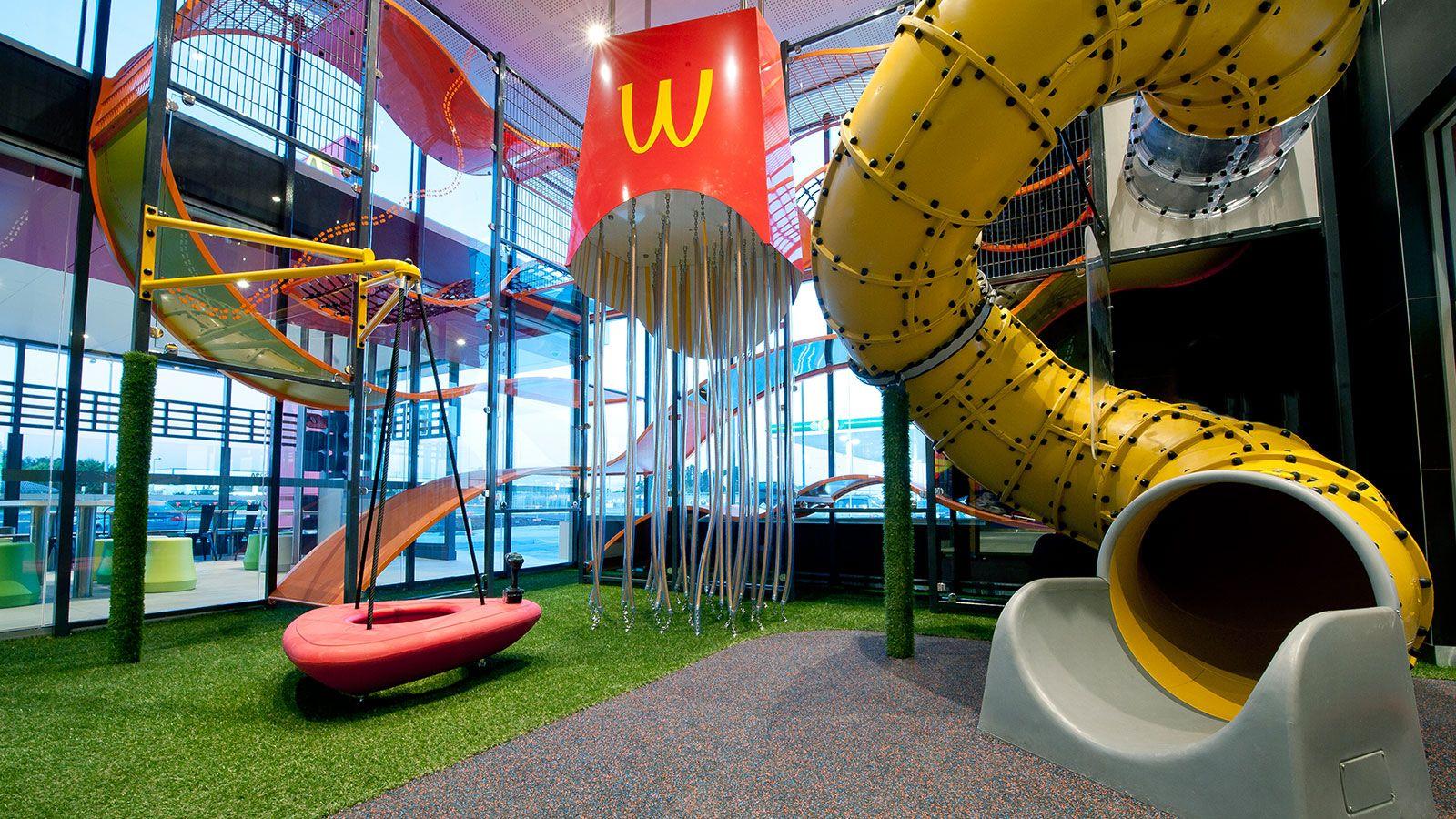 Indoor McDonald's playspace