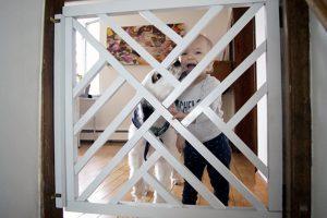 16 DIY Baby Gates Keeping Your Toddling Baby Safe