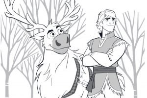 21 Sites With Frozen 2 Coloring Pages For Free